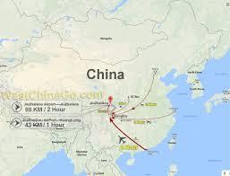 Chengdu China Map by Jiuzhaigou Tour Map China Chengdu Panda Holding Chengdu Panda