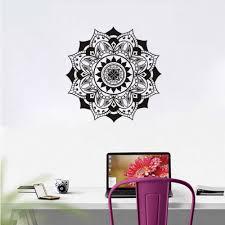 Lotus Flower Wall Decal Om by Online Get Cheap Flower Wall Sticker Mandala Mehndi Aliexpress