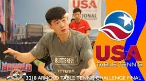 us open table tennis 2018 2017 us open table tennis chionships women s singles round of