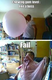 Funny Fail Memes - funny memes chewing gum fail meme