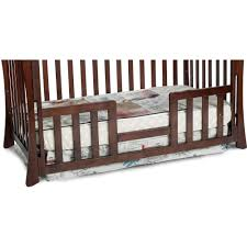 Universal Bed Rail For Convertible Crib Convertible Cribs Cottage Bedroom Gold Wooden Convertible Crib