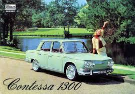 automotive history 1964 1967 hino contessa 1300 u2013 the japanese