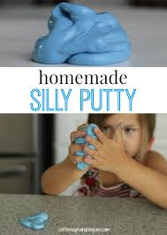 How To Get Silly Putty Out Of Carpet Homemade Silly Putty Recipe Only 3 Ingredients Fine Motor And