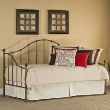 twin metal arch back day bed with in from hearts attic bedroom