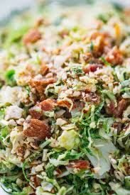 bacon and brussels sprout salad recipe pinch of yum