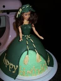 Gone With The Wind Curtain Dress Scarlett O U0027hara Curtain Dress Birthday Cake Gone With The Wind