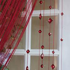 Beaded Window Curtains 1 2 8m Sale Design Beaded Curtain