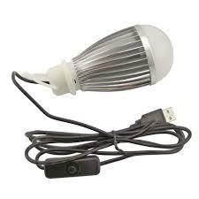 Switch Lighting Led Bulb by Aliexpress Com Buy 5v Usb Led Bulb With Switch 5w 7w Portable