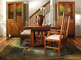 Mission Style Dining Room Furniture Stickley Dining Room Craftsman Style Dining Table Mission