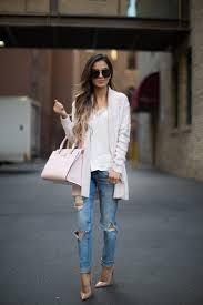 light pink kate spade bag light pink nordstrom sweaters blue nordstrom jeans light pink kate
