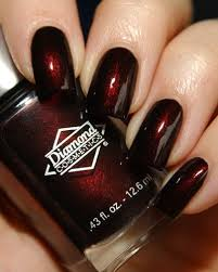 best 25 dark red nails ideas on pinterest dark acrylic nails
