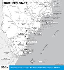 New England Map by Printable Travel Maps Of Maine Moon Travel Guides
