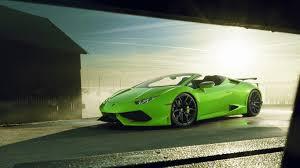 Lamborghini Huracan Body Kit - lamborghini huracan spyder widened and supercharged by novitec