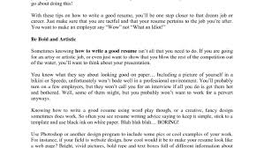 good cv format in word resume acceptable how to make a resume on works word processor