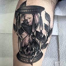 beautiful hourglass tattoo cool colorful idea designs goluputtar com