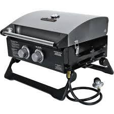 Brinkmann Backyard Kitchen Brinkmann 2 Burner Tabletop Propane Gas Grill 810 1200 S At The