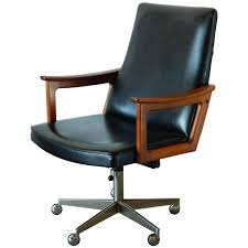 Mid Century Modern Danish Teak Desk Chair In The Style Of Arne