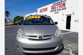 Cars For Sale In Port Saint Lucie Used Toyota Sienna For Sale In Port Saint Lucie Fl Edmunds