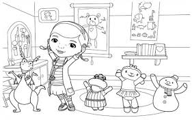 full page doc mcstuffins coloring pages coloring pages ideas