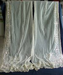 Antique Lace Curtains Pair Of Antique Lace Curtains Antique Lace Curtains