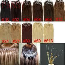 hair color rings images 7a 16 18 20 22 24 inch micro loop ring hair extensions free jpg