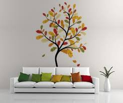 simple wall painting designs for living room wall painting design
