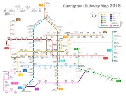 Shanghai Metro Map by Guangzhou Subway Map 2016 U2014 Clear And Enlargable