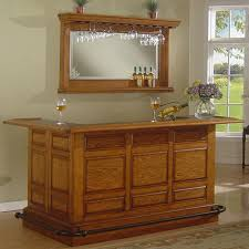 U Shaped Bar Table Funiture Wall Mounted Wooden Home Bar Cabinet Designs Mixed With