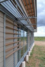 w modern ranch house aac block window wall detail steel excerpt