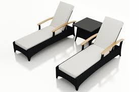 3 pc arbor reclining chaise lounge set
