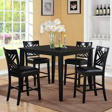 Round Glass Table And Chairs Dining Table 5 Piece Set U2013 Mitventures Co