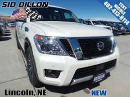 nissan armada tailgate handle new 2017 nissan armada sl suv in lincoln 4n17995 sid dillon