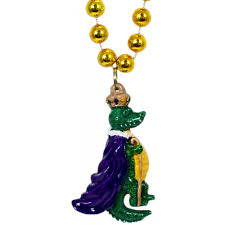 mardi gras alligator king alligator necklace mardigrasoutlet
