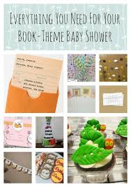 themed baby shower book theme baby shower decorations