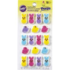 peeps decorations peeps easter candy decorations wilton