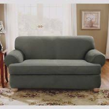 Sure Fit 3 Piece Sofa Slipcover by Suede 3 Seater Sofa Sure Fit Furniture Slipcovers Ebay
