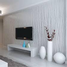 Wallpaper Livingroom by Aliexpress Com Buy Non Woven Fashion Thin Flocking Vertical