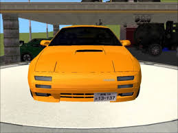 mazda corp sims 2 car conversion by vovillia corp 1990 mazda savanna rx 7