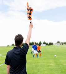 Penalty Flag Football Role Of The Soccer Officials Footbal Referees