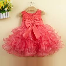 summer 1 year birthday dresses princess dress baby