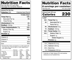 coors light sugar content fda redesigns nutrition labels to reflect how americans actually eat