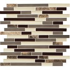 kitchen modern interior design with lowes backsplash in mosaic