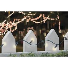Menards Solar Lights - solar led string light set 50 lights at menards