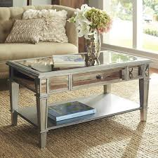 cheap mirrored coffee table hayworth mirrored silver coffee table mirrored coffee tables