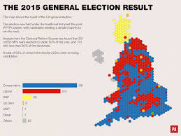 Map Election by Maps Reveal How Uk Would Look If 2015 General Election Votes Had
