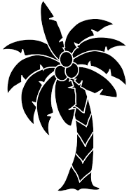 palm tree clip art printable free clipart images clipartix