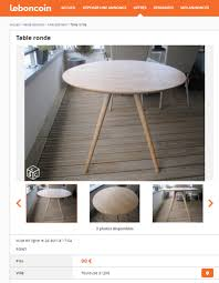 Table De Cuisine Le Bon Coin by Table De Cuisine Le Bon Coin Topfrdesign Co