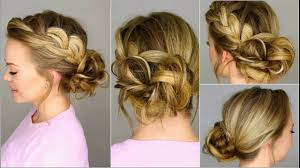 low bun with side braids is timeless classy hairstyle steps to