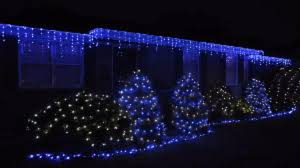 White Icicle Lights Outdoor Blue Led Icicle Outdoor Lights Twinkle Style