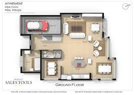 floor plans in 3d property sales tools